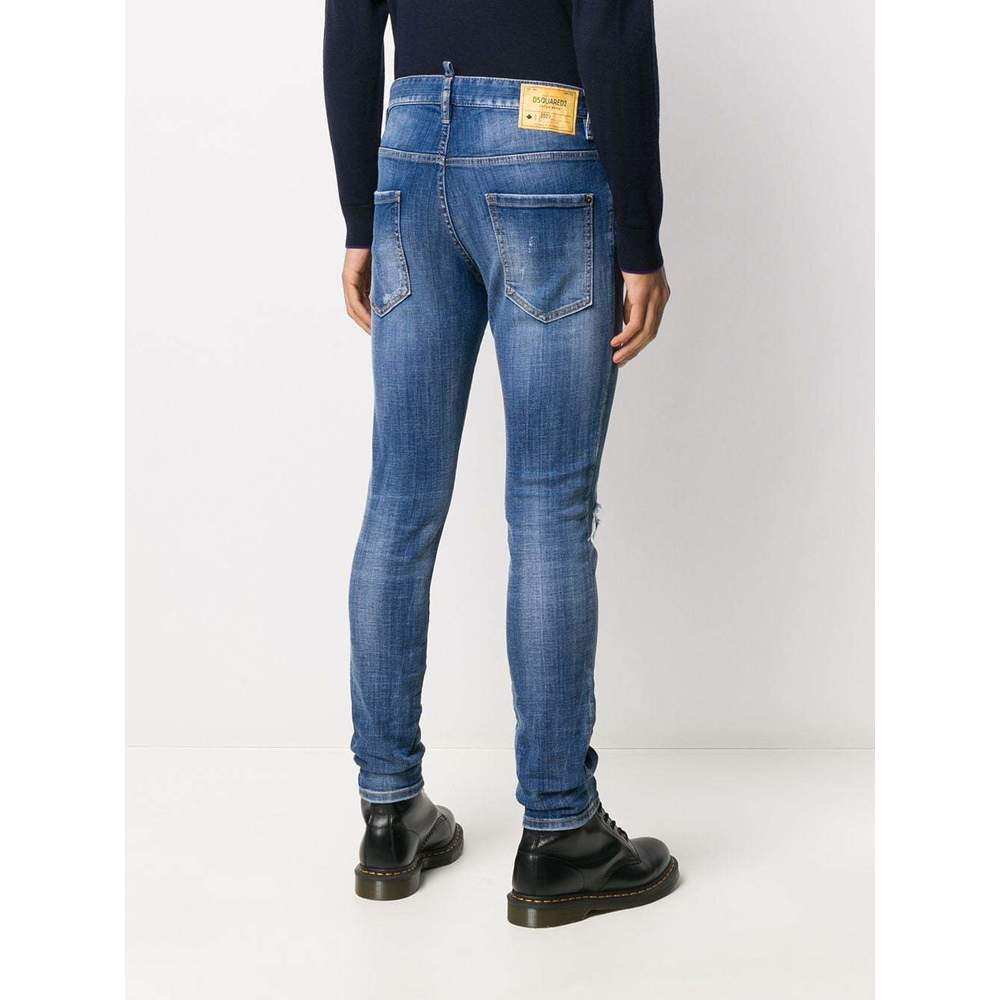 Dsquared2 Blue classic skinny jeans Dsquared2