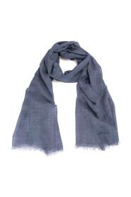 Linen mix scarf