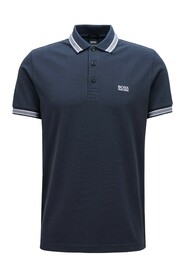 Regular fit polo shirt with 3 buttons