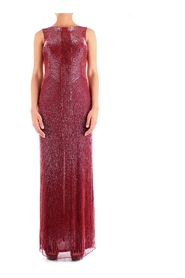 FABIANA FERRI 30128 DRESS Women BORDEAUX