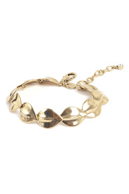 Sculptured Leaves Bracelet