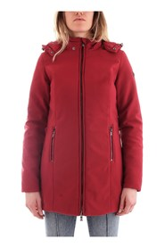 FRACOMINA FR19FP739 Coat Women RED