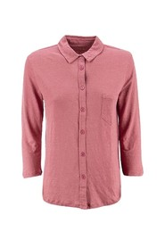 3/4 sleeve shirt and single pocket