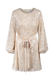 Caiah Sequin Dress Golden Sparkle