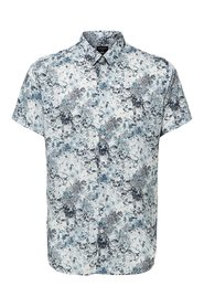 Short sleeved shirt Floral printe