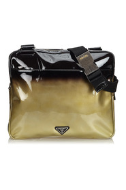 Patent Leather Ombre Crossbody Bag