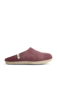 Hjemmesko slip-on Bordeaux