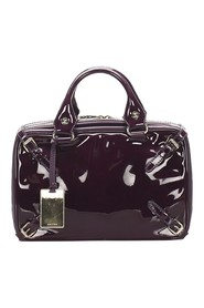 Patent Leather Handbag Leather