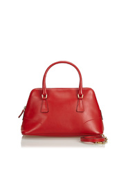 Leather Dome Satchel