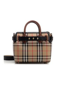 The Belt Baby Vintage Check bag