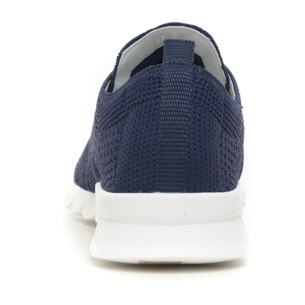 Blue Sneakers with laces | Kiton | Sneakers | Herenschoenen
