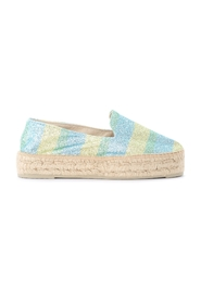 Miami espadrilles in multicolor glitter
