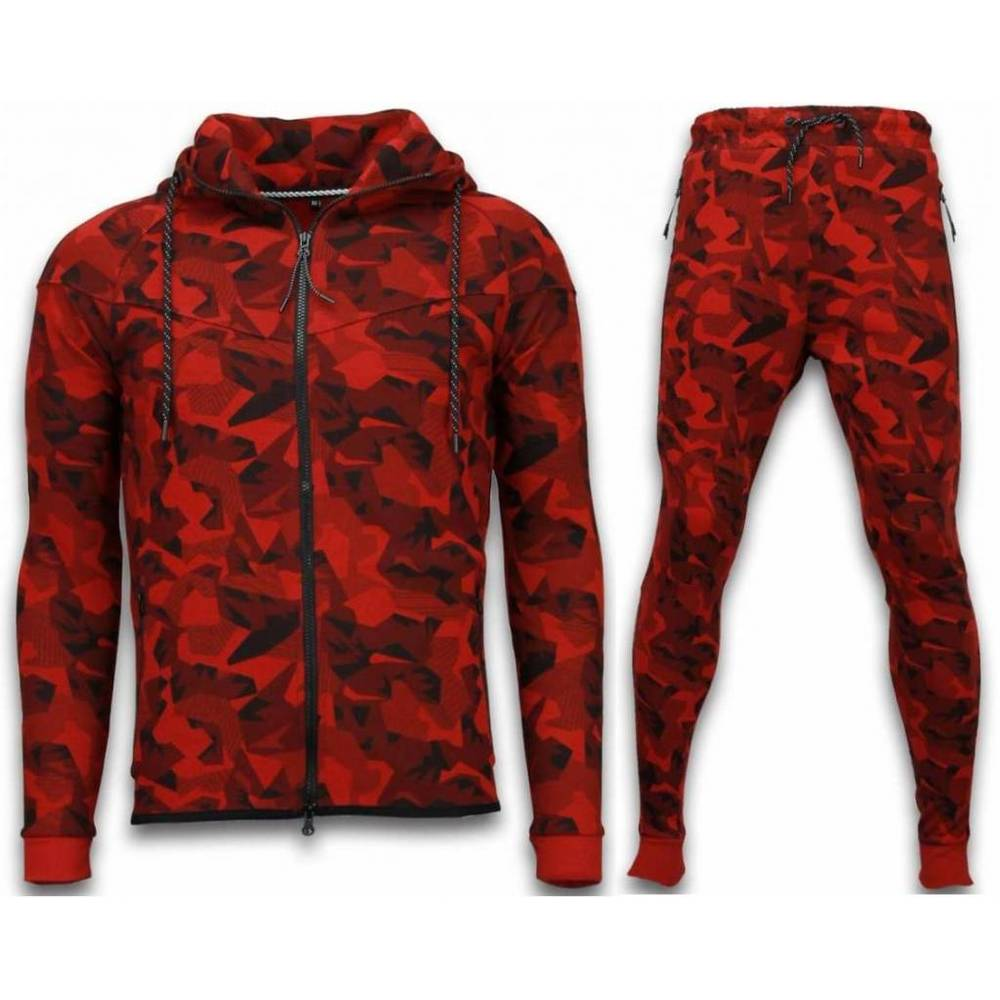 Dres Windrunner Camo Tracksuits - Camouflage Jogging Suit