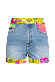 Shorts with floral motif