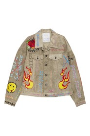Oversize Embroidered Work Jacket