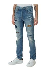 Jeans with Inserts