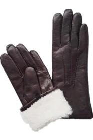 Varm Handsker Skindskind Handsker Lambskin Handsker - Mørkebrun