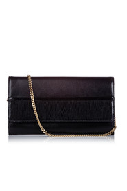Embossed Leather Wallet On Chain