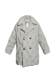 Oversize double-breasted coat