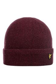 Knitted Ribbed Beanie HE016CL