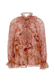 Blouse with floreal print