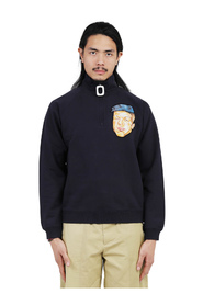 sweatshirt half zip