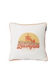 Home Surf Beach Logo Canvas Pillow Cover Interior