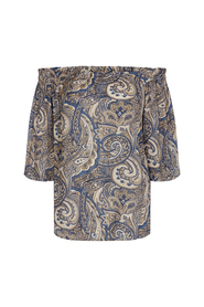 ASHLEY PAISLEY BLOUSE