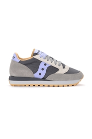 Jazz sneaker in suede and fabric