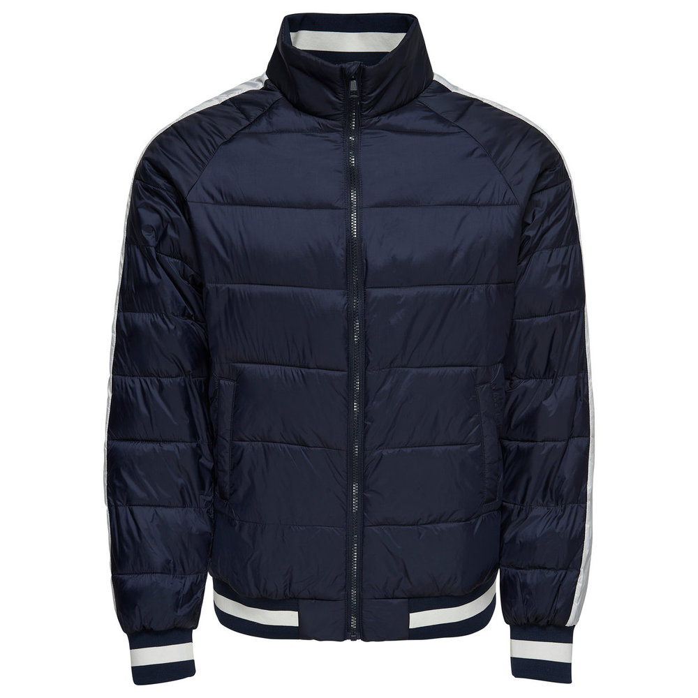 Quilted jacket Contrast