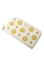 Saffiano Floral Long Wallet