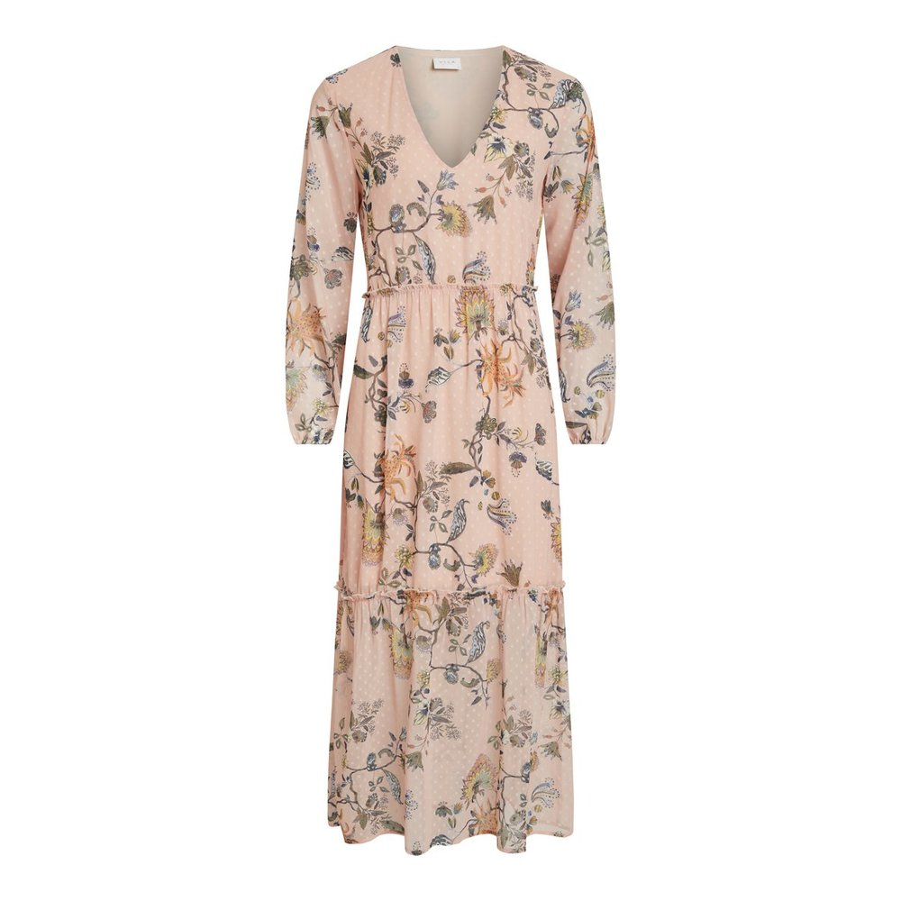 Maxi dress Floral long sleeved