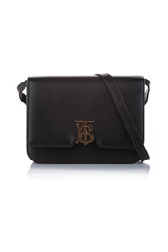 TB Leather Crossbody Bag