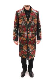 Baroque Brocade Floral Coat Jacket