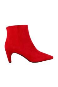 Roberto d'Angelo schoenen enkellaarzen Rood