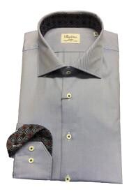 Blå Stenstrøms Slimfit Skjorte