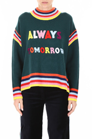 always tomorrow pullover