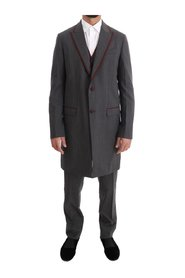 Wool Stretch 3 Piece Two Button Suit