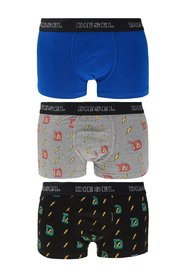 Branded boxers 3-pack
