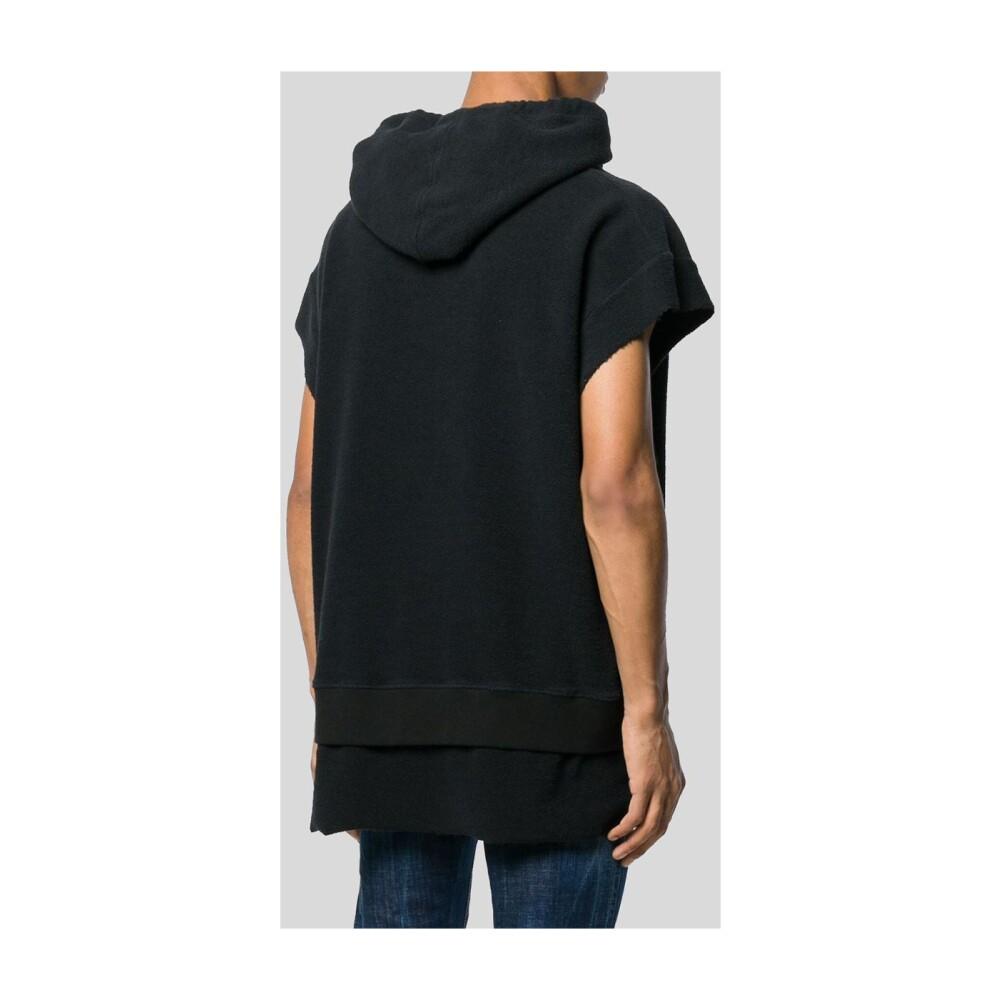 Black Logo Print Hoodie | Dsquared2 | Hoodies | Herrenbekleidung