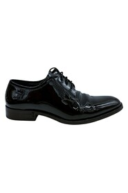 Pre-owned Lace up patent shoes