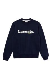 Crocodile Branded Fleece Sweatshirt