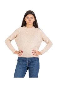 Colorful oat mohair sweater
