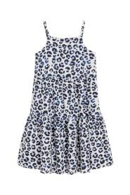 Leopard tryck klänning