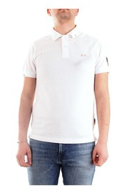 SUN 68 A30131 Short sleeves Men WHITE