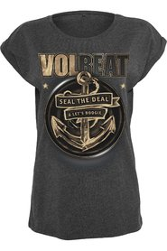 Volbeat Ladies Seal The Deal T-Shirt