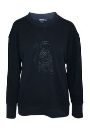 Monkey Embroidered Jumper