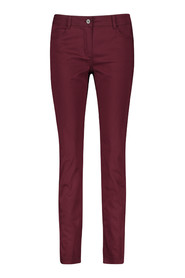 Taifun super skinny pants 420002 / 11220 Ruby Wine - Size 34 / XS