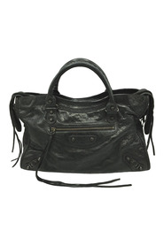 Motocross City Lambskin Leather Satchel