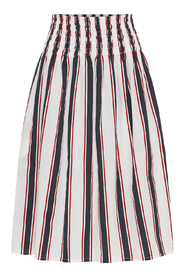 maggie skirt paris stripe
